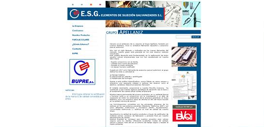 cliente producción estándar ESG