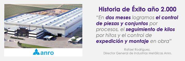 ANRO Historia de éxito siddex año 2000