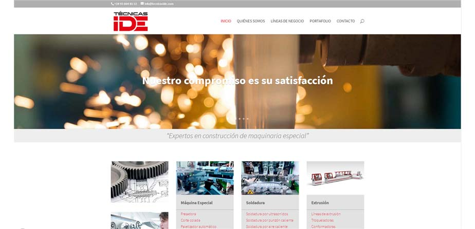 TECNICAS IDE WEB cliente siddex